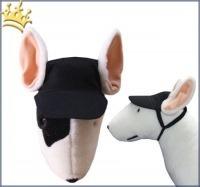 Hundebasecap Schwarz