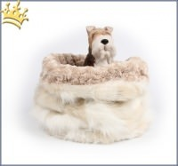 Hunde Cuddle Cup Cream Fox Curly Sue