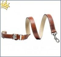 Malucchi Hundeleine Royal Braun
