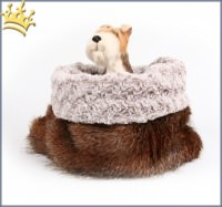 Hunde Cuddle Cup Hidden Fox Ice Curly