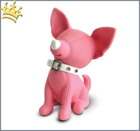 The Pups Banker Chihuahua Pink