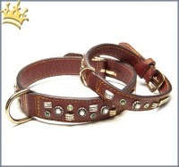 Malucchi Hundehalsband GhiBli Braun