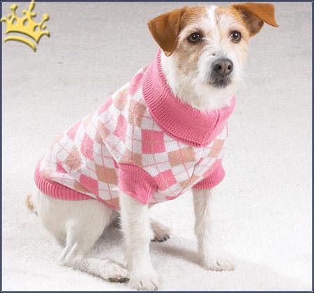 hundepulli argyle rosa hundepullover hundebekleidung. Black Bedroom Furniture Sets. Home Design Ideas