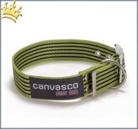 Canvasco Hundehalsband Frida Pistazie