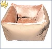 Hunde-Autositz Comfort Deluxe Classic Beige