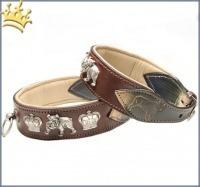 Malucchi Hundehalsband Royal Braun