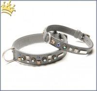 Malucchi Hundehalsband GhiBli Grau