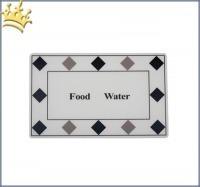 Hundenapfunterlage Food & Water