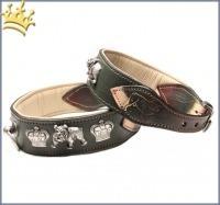 Malucchi Hundehalsband Royal Grün