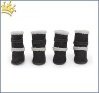 Hundeschuhe Cozy Boots High Black