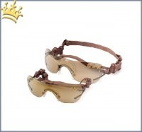 K9 Optik Hunde-Sonnenbrille Braun