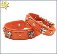 Hundehalsband Crazy Scully Orange