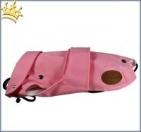 Hunde-Regenmantel Pioggia 2 in 1 Rosa