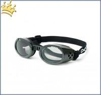 Doggles® Hunde-Sonnenbrillen Schwarz/Metallic ILS