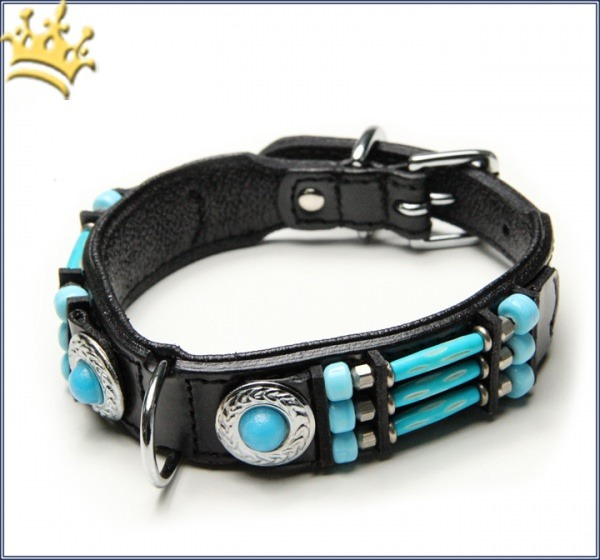 Halsband Blue River 25mm