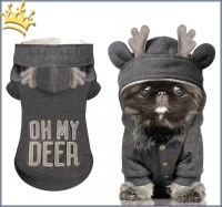 Milk & Pepper Hundesweater Deer