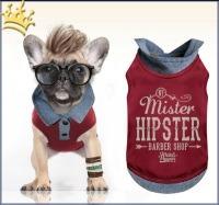 Milk & Pepper Hunde-T-Shirt Yolo