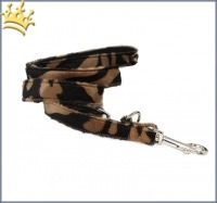 Fell-Leinen Zebra Caramel