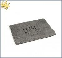 Dirty Dog Doormat Tatze Grau 88x68cm