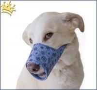 Hundemaulkorb Blue Bandana