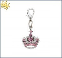 Majestic Crown Charm