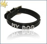 Namenshalsband-Dog-Schwarz