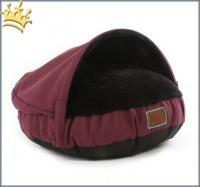 Hundehöhle Snuggle Dreamer Aubergine
