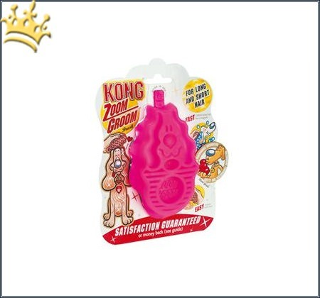 Kong Zoom Groom Haarstriegel