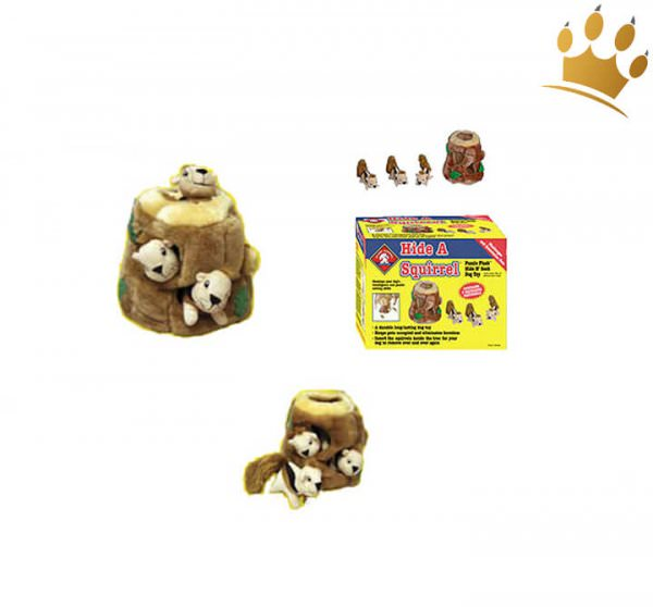 Hundepuzzle Eichhörnchen