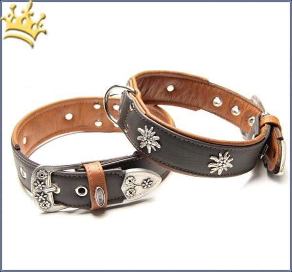Halsband Edelweiss Deluxe Braun