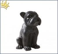 Hunde-Skulptur franz.Bulldogge