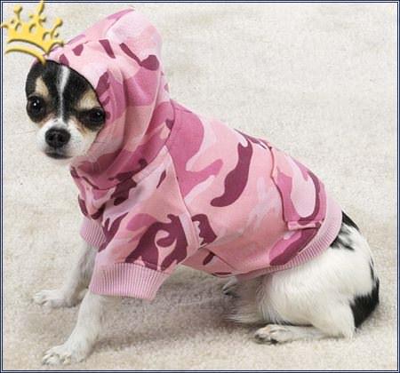 Hoodie Camo Pink