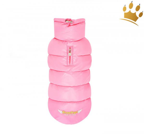 Puppyangel Hundemantel Love Faux Pink