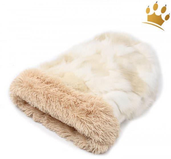 Hunde Cuddle Cup Cream Fox Camel Shag