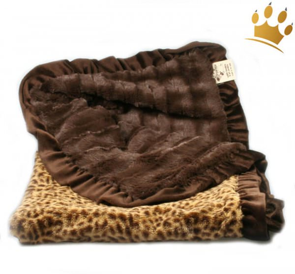 Hundedecke Cheetha Brown Cuddle Throw