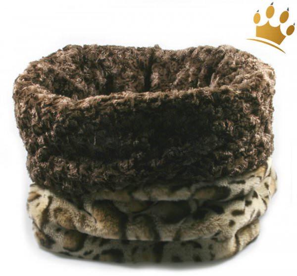 Hunde Cuddle Cup Angora Leopard