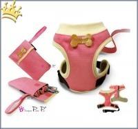 Hundegeschirr 4 in1 Drops Pink