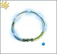 LumiVision® Hundeleuchthalsband Blau