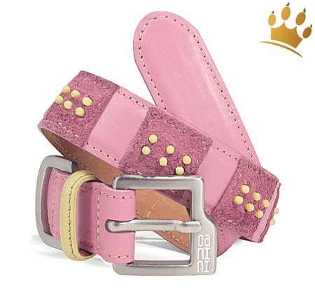 Hundehalsband Canini® Dottie Pink