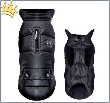 Hundejacke Snow Black