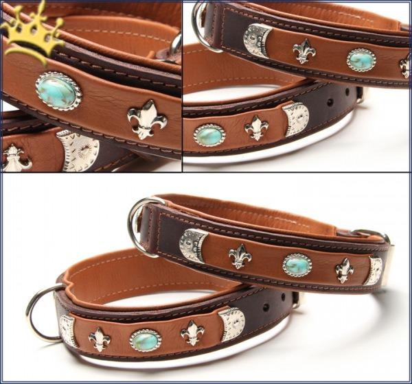 Hundehalsband Rodeo Drive Braun