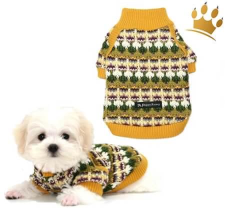 Hundepulli Bosom Mustard