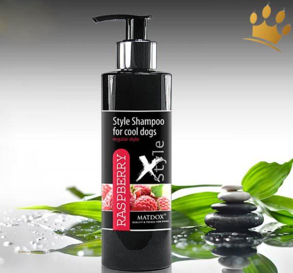 Style Hundeshampoo Raspberry 250ml