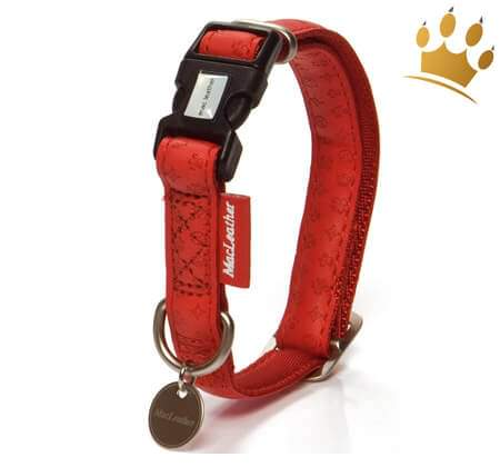 Hundehalsband Fiori Red