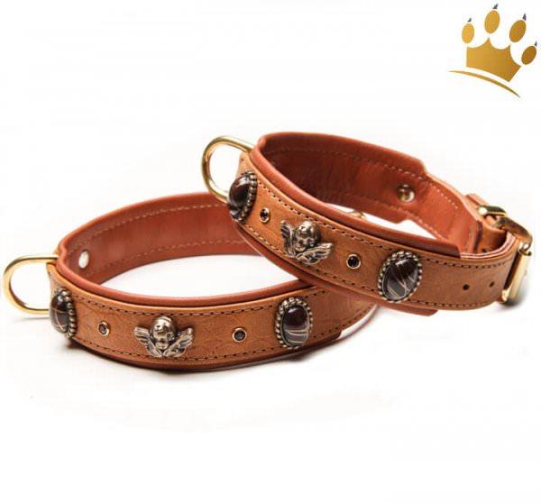 Hundehalsband Bella Angelo Braun Petit
