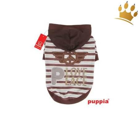 Puppia Hunde-Sweater Hardcore Braun