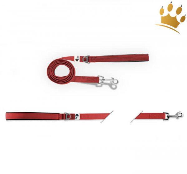 Curli®  Basic Hundeleine Nylon Rot