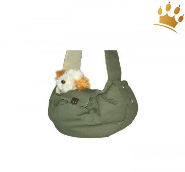Hundetasche Messenger Khaki