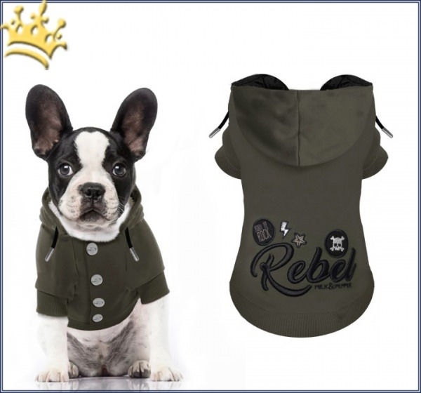 Milk & Pepper Hundesweater Fugazy