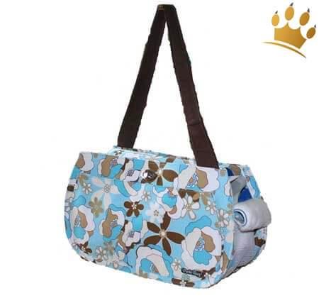 Puchi Bag Flora blau